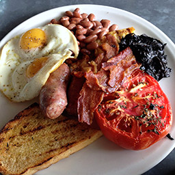 Full breakfast, available all day